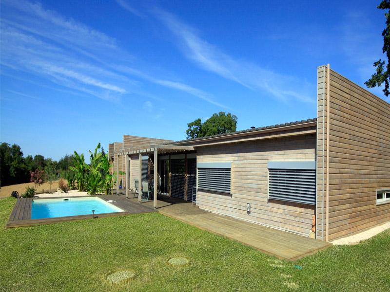 Maison Moderne Ossature Bois