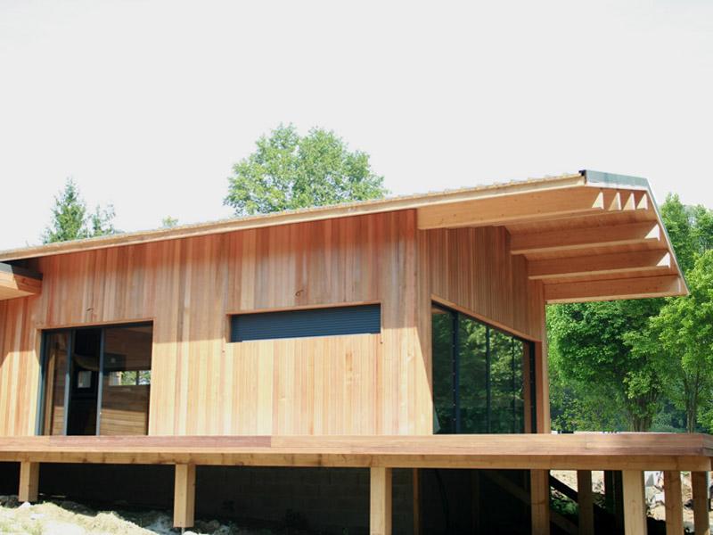 Maison Ossature Bois Landes